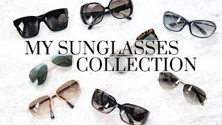 My Sunglasses Collection ft. Tom Ford, Karen Walker, Ray Ban & more!, sunglasses collection