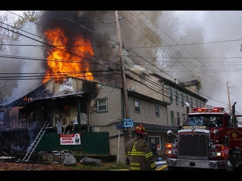 2nd Alarm Fire; Mineral Springs Hotel & Bar, Forks Township PA | 10.22.13