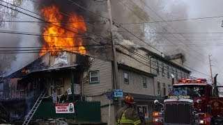 2nd Alarm Fire; Mineral Springs Hotel & Bar, Forks Township PA   10.22.13