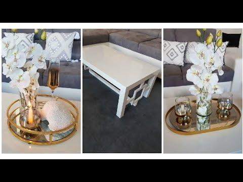 decoration plateau diy decor table basse
