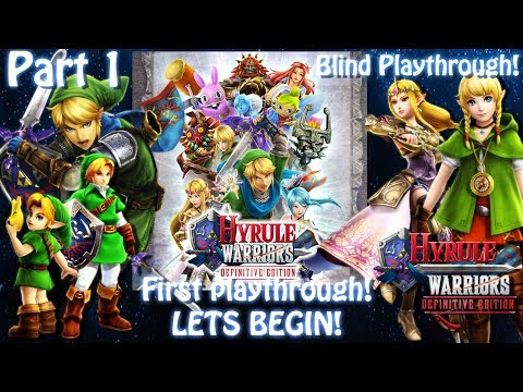 [Switch]Hyrule Warriors:Definitive Edition[Blind][Part 1] SMASH THINGS!  Live stream archive