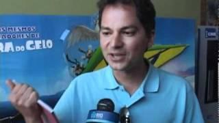Depoimento Carlos Saldanha (diretor Do Filme Rio) Sobre O Livro  Geografias Cariocas