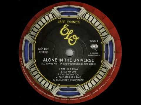 """ELO """"Alone In The Universe"""" - 2015 [Vinyl Rip] (Full Album)"""