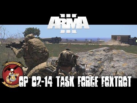 Operation 02-14 Uncut - Task Force Foxtrot - Commanding