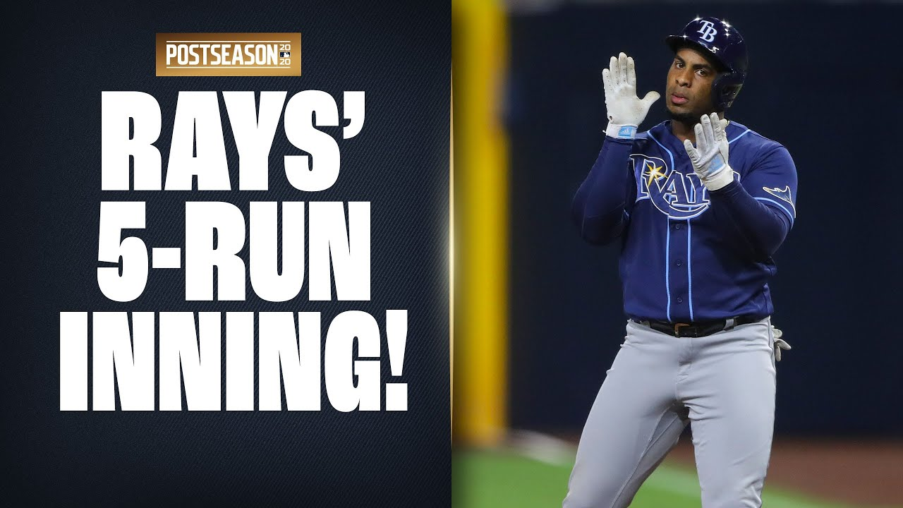 Rays put together HUGE 5-run inning to take lead vs. Astros in ALCS Game 3!