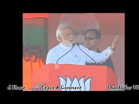PM Modi's Speech At A Public Meeting in Jaunpur, Uttar Pradesh 4th March 2017