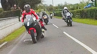 GUY MARTIN OFF⚡ + 600cc vs 1000cc ✔️ . . . (Isle of Man TT type racing)