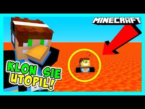 Minecraft Nano Party - KLON UTOPIŁ SIĘ W LAWIE!