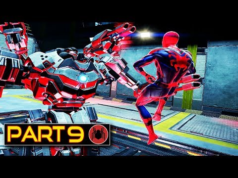 Spider-man Homecoming Story Gameplay Part 9 - The Amazing Spider-man Mod