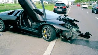 Best Top 5 Lamborghini Crash 2008 2015 Gallardo Murcielago Aventador Diablo LP1