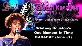 One moment in time karaoke (tone +1)