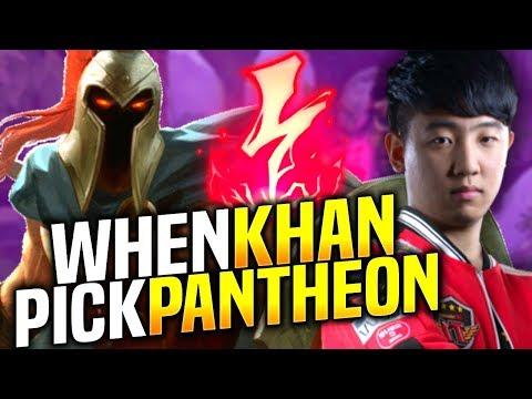 When SKT T1 Khan Plays Pantheon Top! - SKT T1 Khan Picks Pantheon Top! | SKT T1 Replays