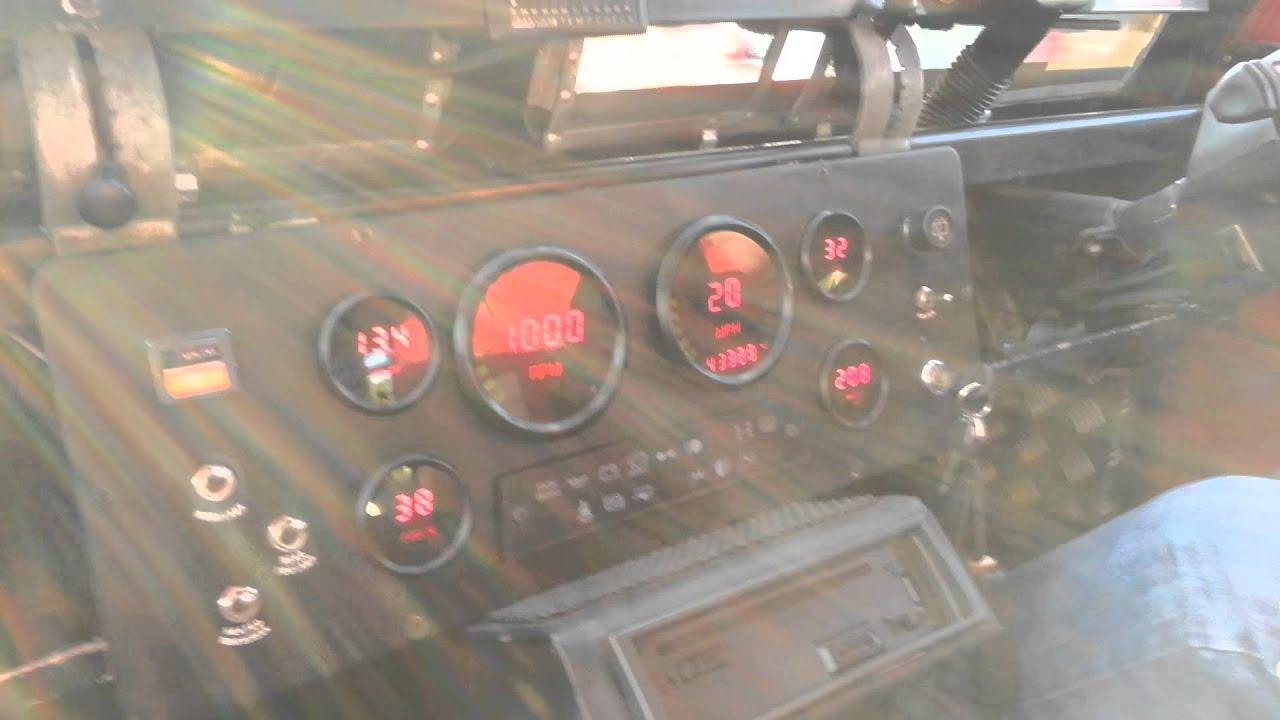 youtube land landrover defender custom rover dashboard watch gauge