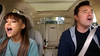 Ariana Grande BELTS OUT Broadway Tunes With Seth MacFarlane in NEW Carpool Karaoke Teaser