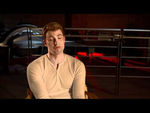The Avengers: Official On Set Interview Chris Evans [HD]