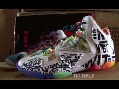 What The Lebron 11 Nike Shoe Detailed Breakdown Review With  DjDelz ... 3abdb8780