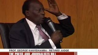 UGANDA PRESS AND JOURNALIST STATUTE