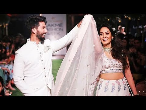 Shahid Kapoor And Mira Rajput DANCES At Lakme Fashion Week 2018