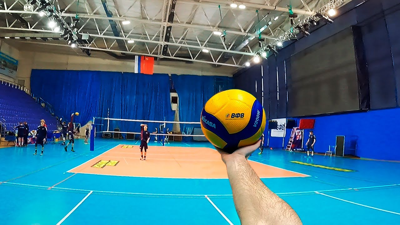 Download Volleyball First Person   Wing Spiker   Highlights   Youth Team VC Fakel (POV)
