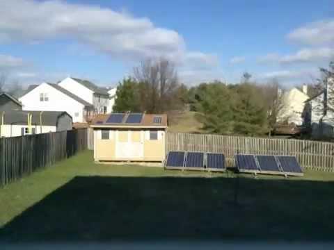 Genial Backyard Solar Panels At Athena Energy Headquarters