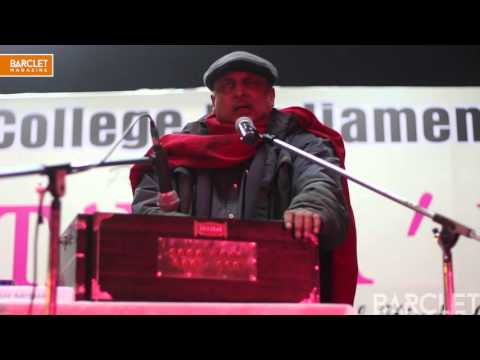 Piyush Mishra | Duniya (Live At Hindu College)