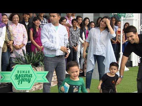 Anak Mama Atau Papa?  Ini Jawaban Rafathar yang Bikin Ketawa - Rumah Mama Amy (21/11)
