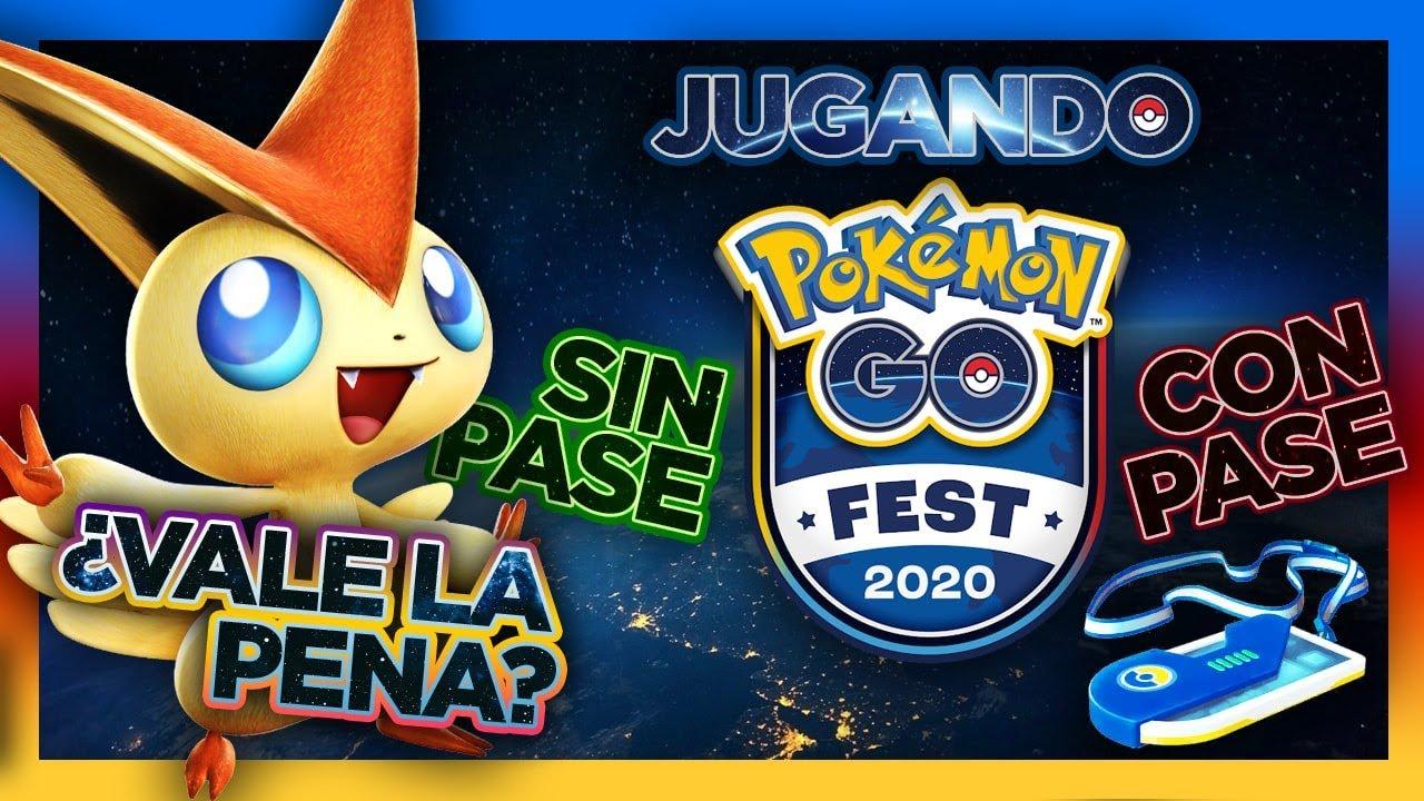 JUGANDO POKÉMON GO FEST 2020 CON PASE Y SIN PASE