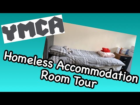 Homeless Accommodation Room Tour | YMCA Room Tour