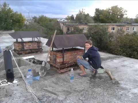 видео: Ремонт крыши дома своими руками. Ризолин - Кровельный материал.
