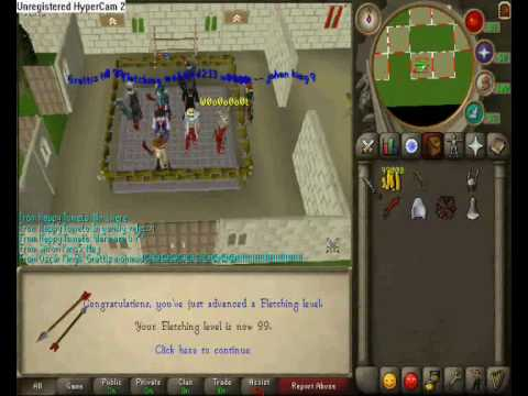 how to get 99 fletching