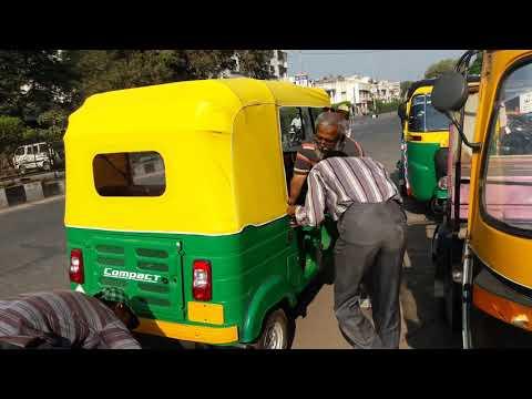 bajaj auto rikshawa company hood fitting .