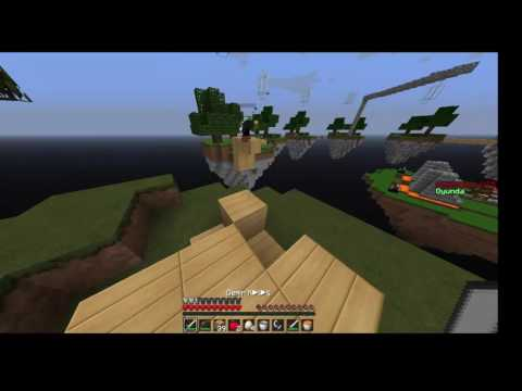 Minecraft #SkyWars #Bölüm1
