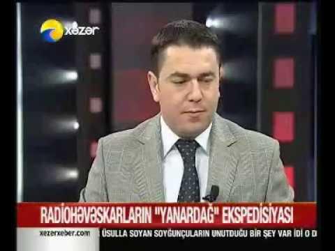 Yanar Dag DX Xpedition Xezer TV Amateur Radio Azerbaijan