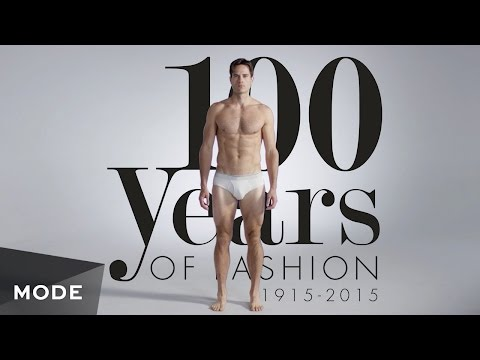 100 Years of Fashion: Men � Mode.com