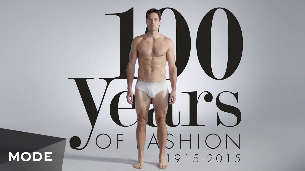 100 Years Of Fashion Men Glam Com Youtube