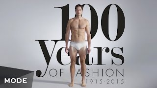 100 Years of Fashion: Men ★ Mode.com(100 Years of Fashion is back! This time, we're giving the guys a go and recapping men's style from 1915 to now. ☆ Visit Mode for more: ..., 2015-07-09T17:47:59.000Z)