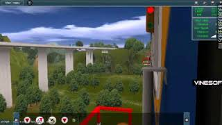 Trainz simulator android persilangan serayu dan argo parahyangan di sasak saat