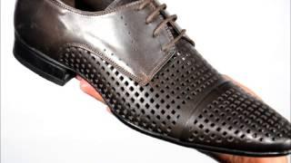 Коричневые кожаные мужские туфли 6387 7023 brown(Чтобы купить эти мужские летние туфли от ТМ ETOR пройдите по ссылке http://goodway.ua/letnyaya-mugskaya-obuv/lmo-tufli-klasicheskie.html., 2012-11-11T16:57:04.000Z)