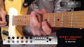 MESA/Boogie Express 5:25+ Ch. 1 CRUNCH – Clipped