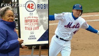 MLB.com FastCast: MLB honors Jackie Robinson - 4/15/18