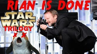 RIAN JOHNSON STAR WARS TRILOGY CANCELLED, DONE & DAMAGE CONTROL FOR THE LAST JEDI STEELBOOK RELEASE