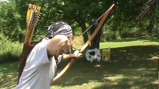 Traditional Archery Shooting The Recurve Bow