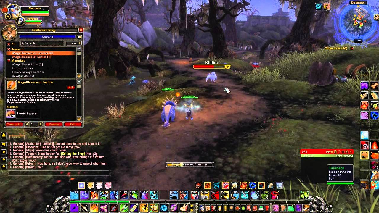 how to make dreadful armor as a leatherworker where to get rh youtube com WoW 1 90 Leveling Guide Vanilla WoW Leveling Guide