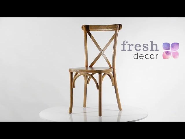 Стул Cross Back из натурального дерева удобный и качественный стул . Стулья для дома, ресторана