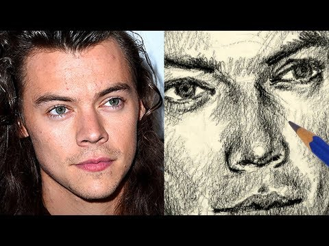 How to Draw Harry Styles