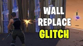 INSANE New Wall Replace GLITCH in Fortnite!