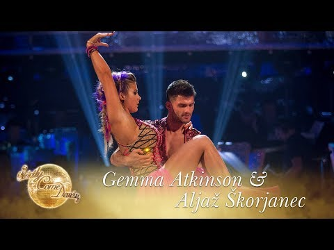 Gemma Atkinson & Aljaž Skorjanec Paso Doble to 'Viva La Vida' by Coldplay  Strictly 2017
