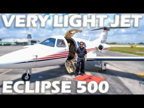 Very Light Jet - Eclipse 500 - Flight