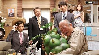 新種の野菜を開発した農家の高木(六平直政)が新種の野菜「アツジロッ...