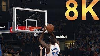 NBA 2K15 8K SA vs Cleveland Max Settings Gameplay High Resolution PC Gaming 4K | 5K | 8K and Beyond